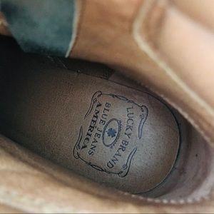 Lucky Brand Shoes - NWOB Lucky Brand   green heel combat boots booties